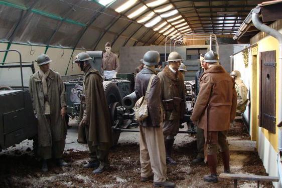 Verdun und die Maginot-Linie