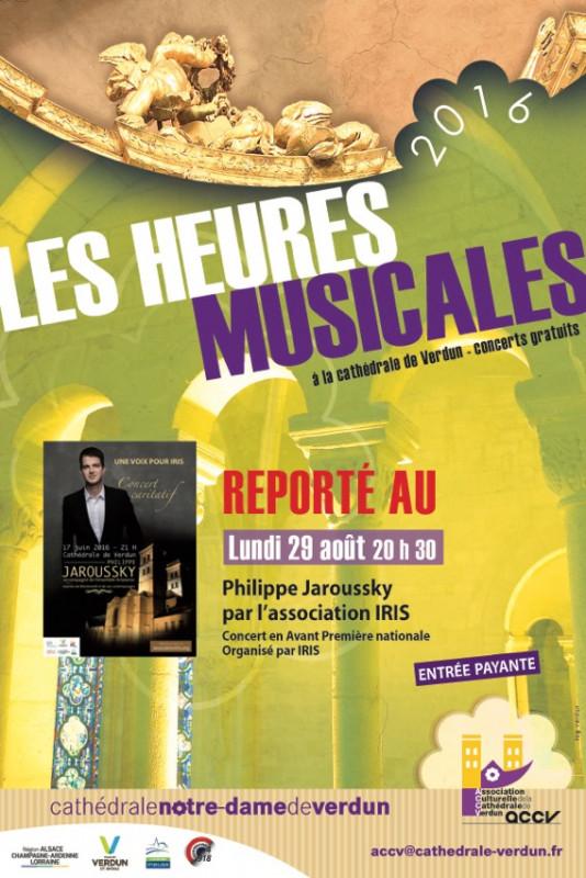 concert caritatif de philippe jaroussky le  aout